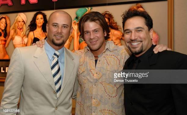 Cris Judd, Christian Kane and Eddie Garcia