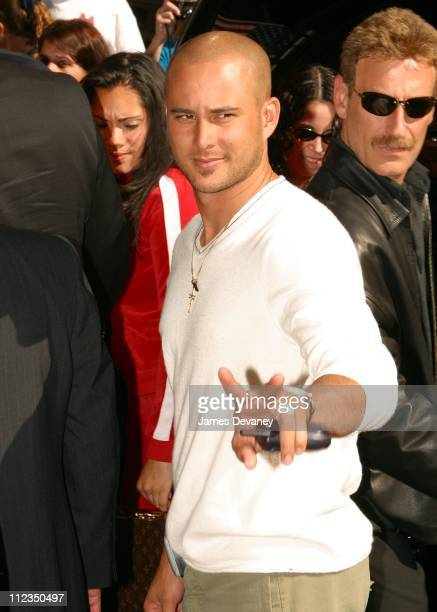 """Cris Judd during Jennifer Lopez Visits the """"Late Show with David Letterman"""" - May 22, 2002 at Ed Sullivan Theater in New York City, New York, United..."""