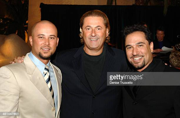 Cris Judd, Felix Rappaport and Eddie Garcia during FANTASY Re-Launch - Choreographed By Chris Judd and Eddie Garcia at Luxor Hotel and Casino Resort...