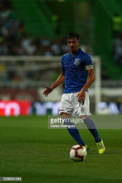 Cris Santos of CD Feirense during the Liga NOS match between Sporting CP and CD Feirense at Estadio Jose Alvalade on September 1 2018 in Lisbon...