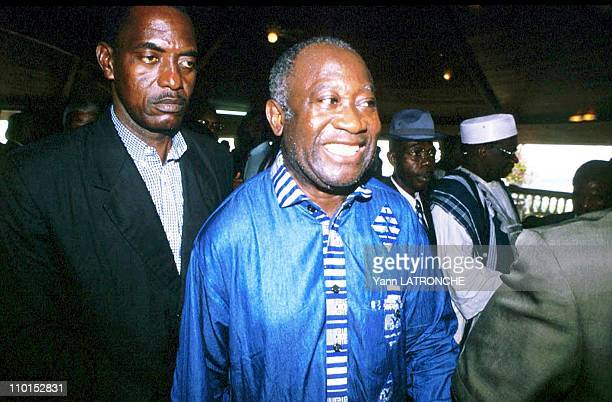 Crisis in Ivory Coast on December 29 1999 Laurent Gbagbo president of FPI