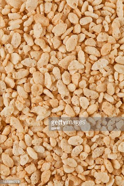 crisped rice cereal - crunchy stock pictures, royalty-free photos & images