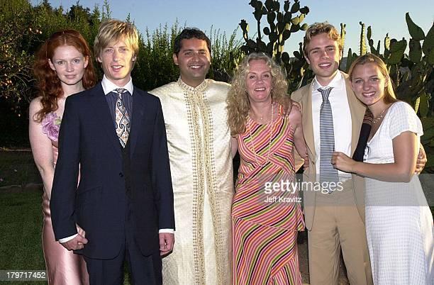 Crispian Mills Furdoze Hayley Mills Joe Mills during David Tuchman and Melissa Caulfield Wedding 2001