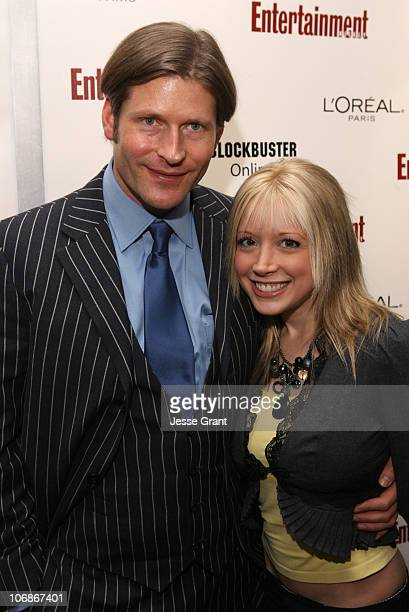 Crispin Glover and Courtney Peldon during 2006 Sundance Film Festival - Entertainment Weekly Sundance Opening Weekend Party - Arrivals at The Shop in...