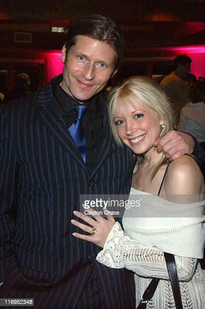 Crispin Glover and Courtney Peldon during 2006 Sundance Film Festival - Opening Night Gala at Park Meadows Country Club in Park City, Utah, United...