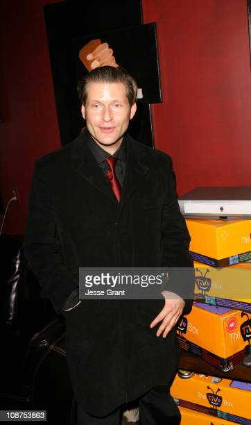 Crispin Glover during 2006 Park City - The Chrysler Studio - Day 3 at 323 Main Street in Park City, Utah, United States.