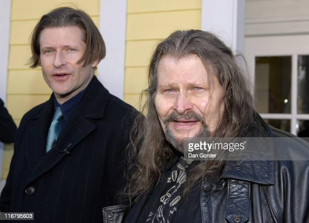 Crispin Hellion Glover and Bruce Glover during 2007 Park City - Seen Around Town - Day 6 at Streets of Park City in Park City, Utah, United States.