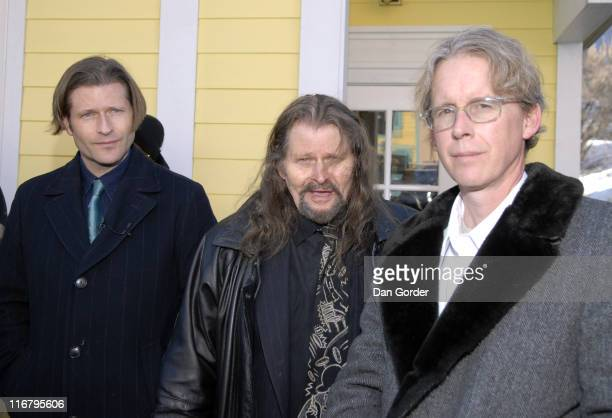 Crispin Hellion Glover, Bruce Glover and David Brothers