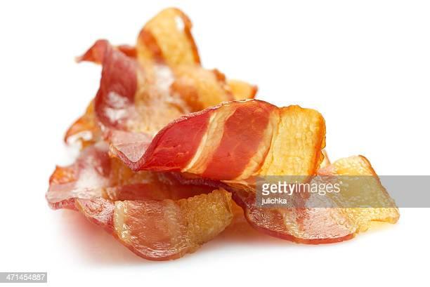crispy bacon - spek stockfoto's en -beelden