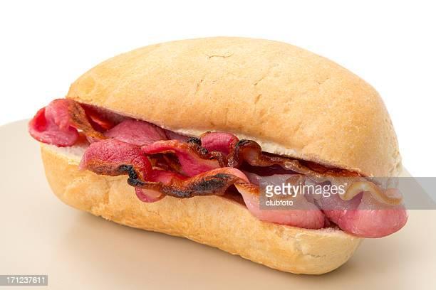 Crispy bacon roll