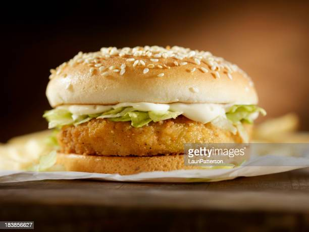 Crispy Chicken Burger