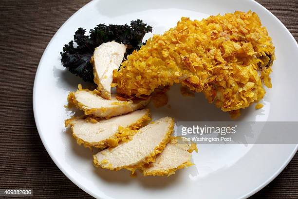 Crispy Coated Baked Chicken photographed in Washington DC