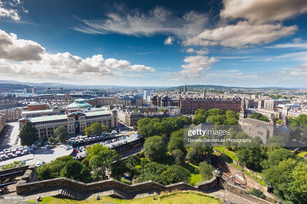 Crispy Edinburgh : Stock Photo