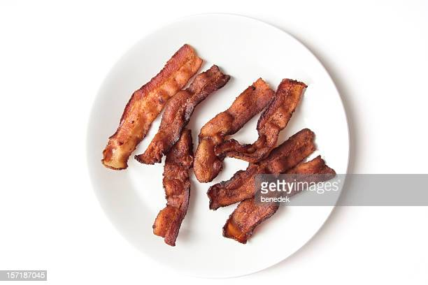 Crispy Fried Bacon Strips