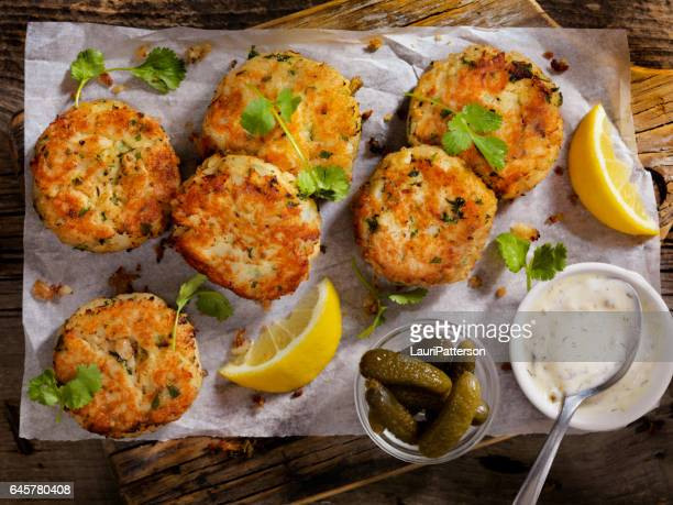 Crispy Golden Fish Cakes