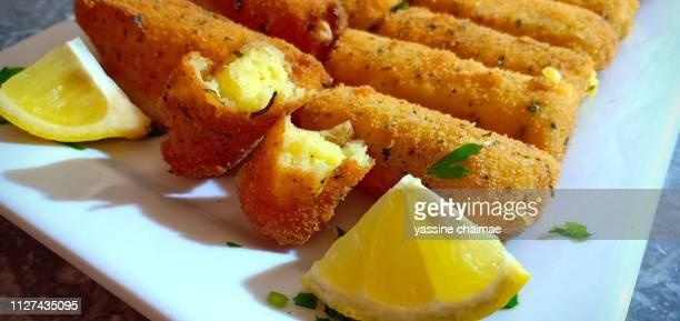 crispy potato croquettes