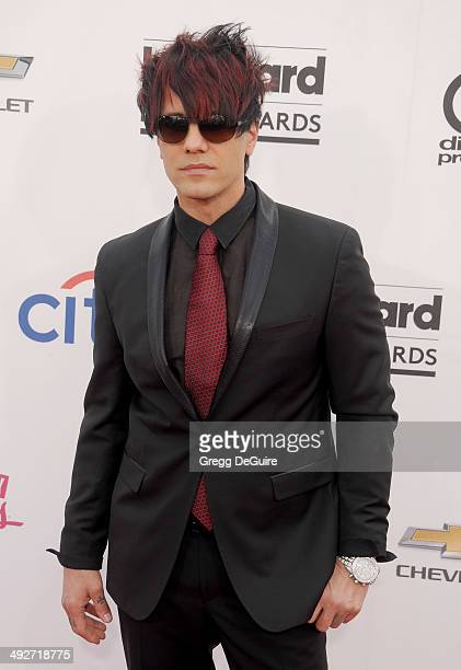 Criss Angel arrives at the 2014 Billboard Music Awards at the MGM Grand Garden Arena on May 18 2014 in Las Vegas Nevada