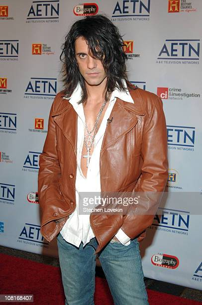 Criss Angel during 2005/2006 AE Television Networks UpFront Arrivals at Sea Grill Rockefeller Center in New York City New York United States