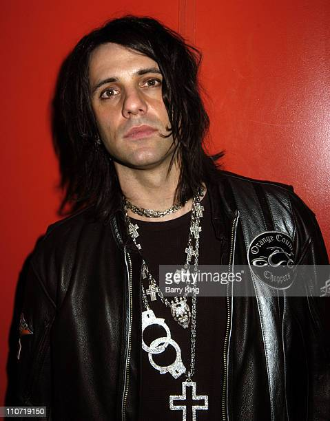Criss Angel during Criss Angel Signs his DVD Mindfreak The Complete Season One at Virgin Megastore in Hollywood January 18 2006 at Virgin Megastore...