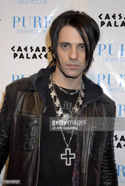 Criss Angel during Jenna Jameson Hosts a Surprise Birthday Party for MMA Champ Tito Ortiz January 23 2007 at Pure Nightclub in Las Vegas California...