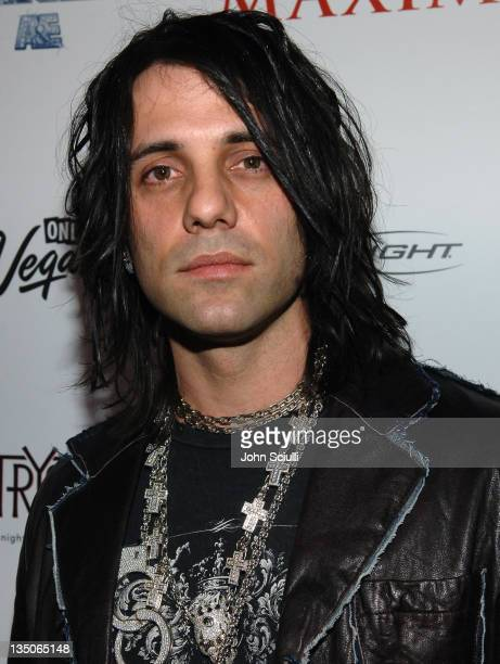 Criss Angel during Maxim 100th Issue Weekend Party Arrivals at Wynn Hotel Casino in Las Vegas Nevada United States