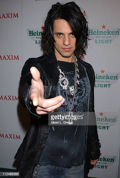 Criss Angel during Party by MAXIM to unveil the new Heineken Premium Light hosted by Jesse Metcalfe and Criss Angel at Mood in Hollywood CA United...