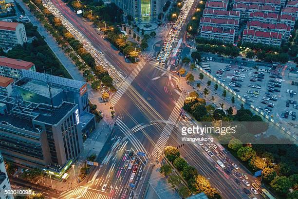 crisscross streets