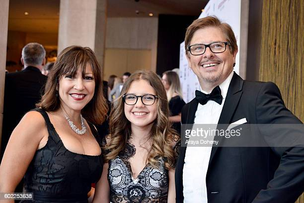 Crissy Guerrero Alina Foley and actor Dave Foley attend the Sixth Annual American Humane Association Hero Dog Awards at The Beverly Hilton Hotel on...