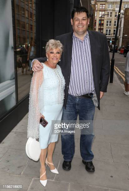 Crissy Rock and Mark Labbett attending the ITV Summer Party 2019 at Nobu Shoreditch in London