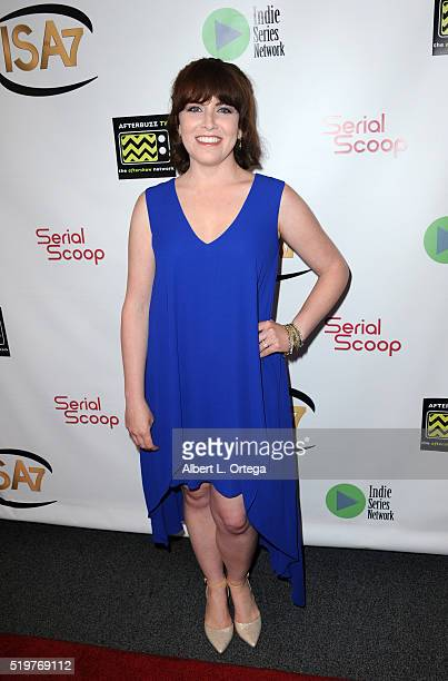 Crista Flanagan at the 7th Annual Indie Series Awards held at El Portal Theatre on April 6 2016 in North Hollywood California