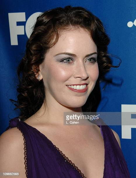 Crista Flanagan during The Fox All-Star Winter 2007 TCA Press Tour Party - Red Carpet and Inside at Villa Sorriso in Pasadena, California, United...