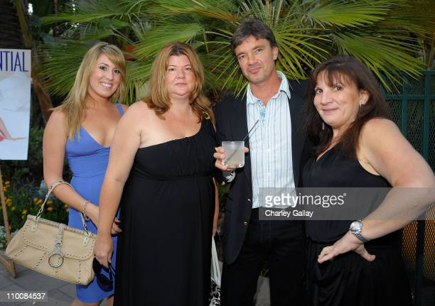 Crista Noel Judith Connely Zoltan Hargitay and Roberta Mariani attend Los Angeles Confidential magazine's Summer Soiree held at the Fairmont Miramar...