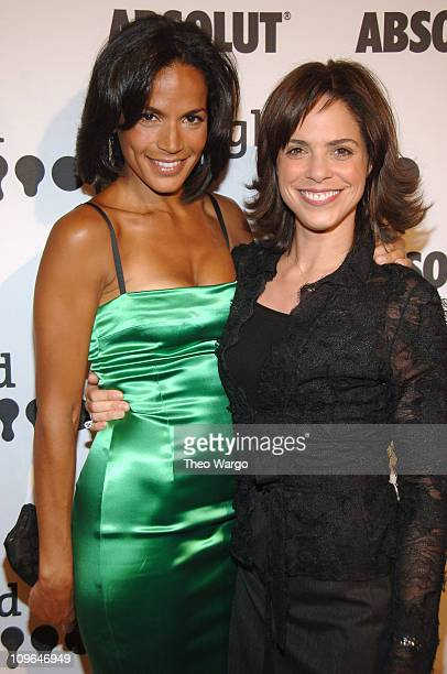 Cristal McCraryAnthony and Soledad O'Brien during 17th Annual GLAAD Media Awards Presented By Absolut Vodka Arrivals at Marriott Marquis in New York...