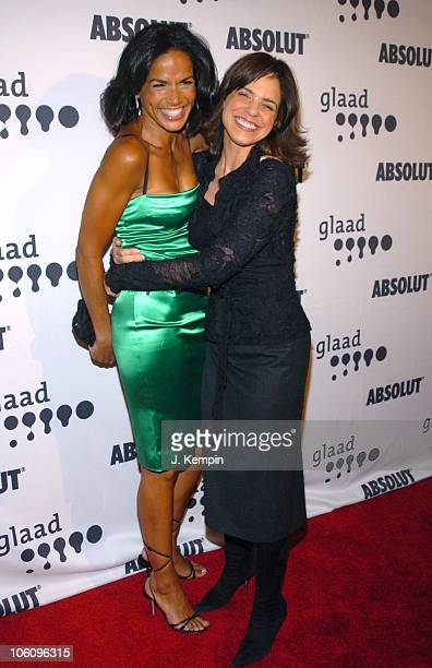 Cristal McCraryAnthony and Soledad O'Brien during The 17th Annual GLAAD Media Awards Red Carpet at The Marriott Marquis in New York City New York...