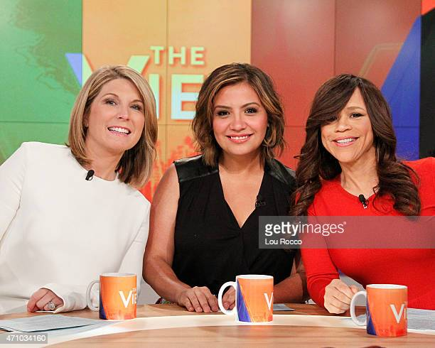 THE VIEW Cristela Alonzo and Hannah Storm are the guest cohosts today Tuesday April 21 2015 on Walt Disney Television via Getty Images's The View...
