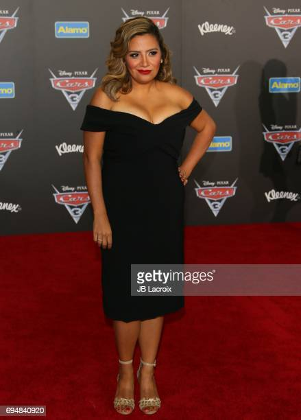 Cristela Alonzo attends the premiere of Disney and Pixar's 'Cars 3' on June 10 2017 in Anaheim California