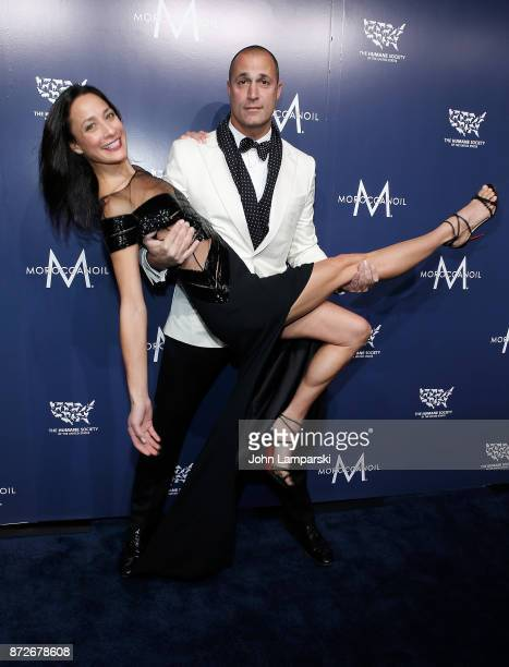 Cristen Barker and Nigel Barker attend 2017 Humane Society of The United States to the Rescue New York Gala at Cipriani 42nd Street on November 10...