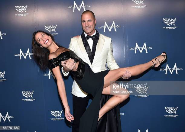 Cristen Barker and Nigel Barker attend the 2017 Humane Society of the United States to the Rescue New York Gala at Cipriani 42nd Street on November...