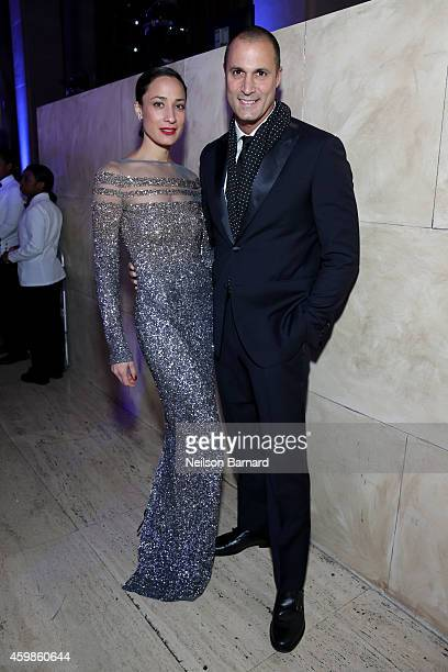 Cristen Barker and Nigel Barker attend the Tenth Annual UNICEF Snowflake Ball at Cipriani Wall Stree on December 2 2014 in New York City