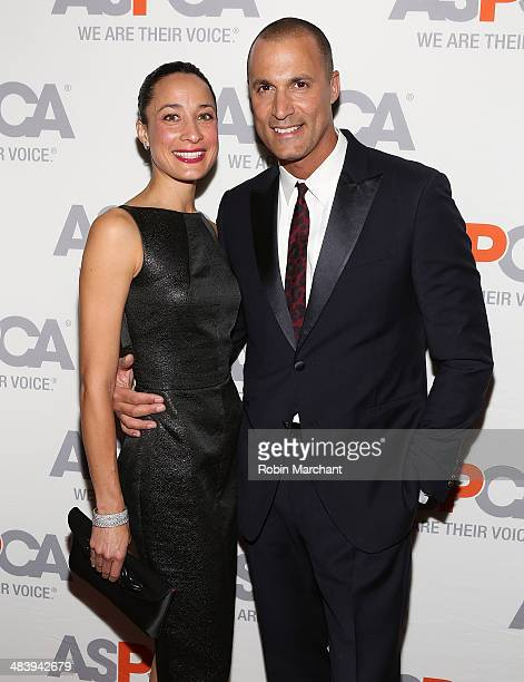 Cristen Barker and Nigel Barker attends ASPCA's Annual Bergh Ball Gala at The Plaza Hotel on April 10 2014 in New York City