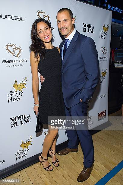 Cristen Barker and photographer Nigel Barker attend 18th Annual Hearts Of Gold Gala at New York Stock Exchange on November 11 2014 in New York City