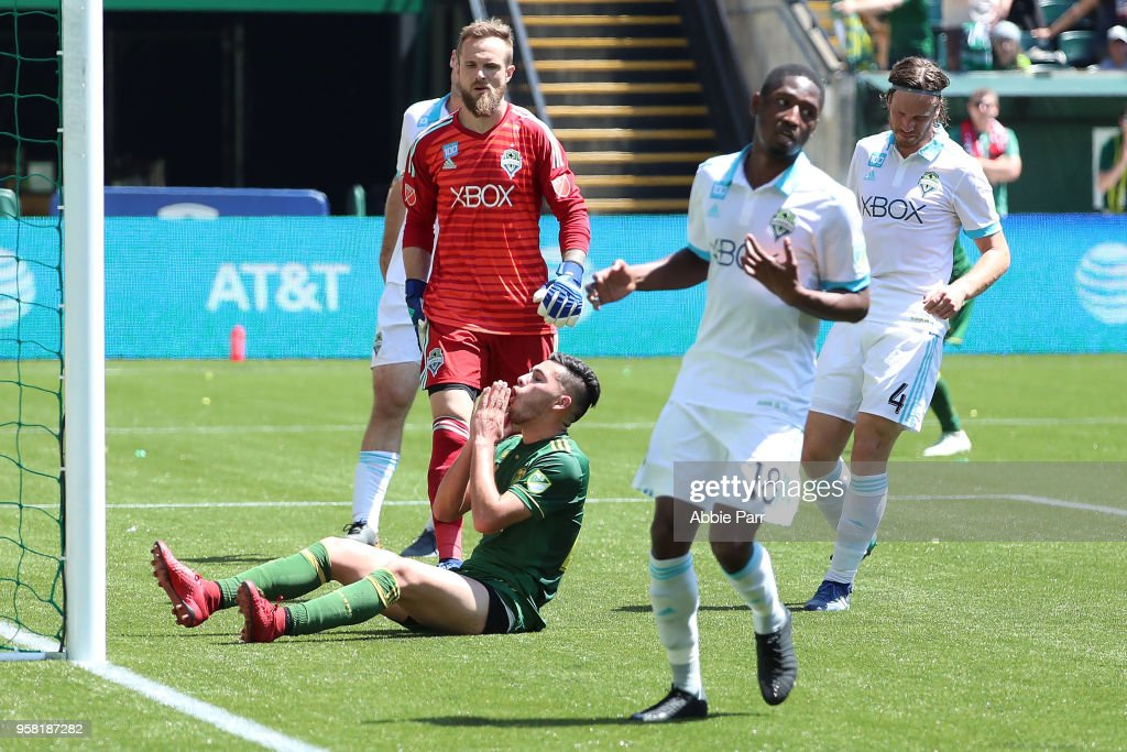 Seattle Sounders FC v Portland Timbers : News Photo
