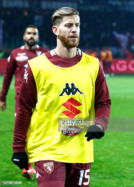 Cristian Ansaldi during Serie A match between Torino v Juventus in Turin on December 15 2016