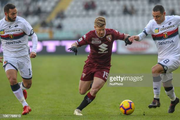 Cristian Ansaldi during the Serie A football match between Torino FC and Genoa CFC at Olympic Grande Torino Stadium on December 02 2018 in Turin...