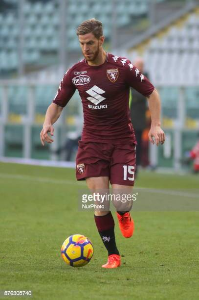 Cristian Ansaldi during the Serie A football match between Torino FC and AC Chievo Verona at Olympic Grande Torino Stadium on 19 November 2017 in...