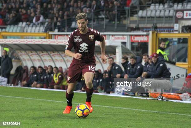 Cristian Ansaldi in action during the Serie A football match between Torino FC and AC Chievo Verona at Olympic Grande Torino Stadium on 19 November...