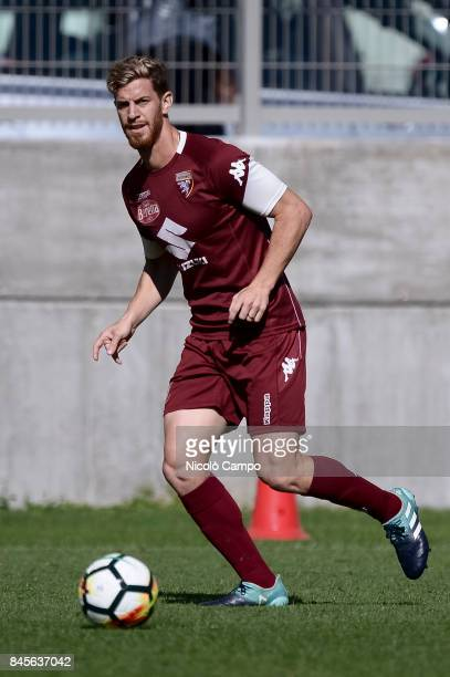 Cristian Ansaldi in action during the Torino FC training Cristian Ansaldi signed for Torino FC on August 31