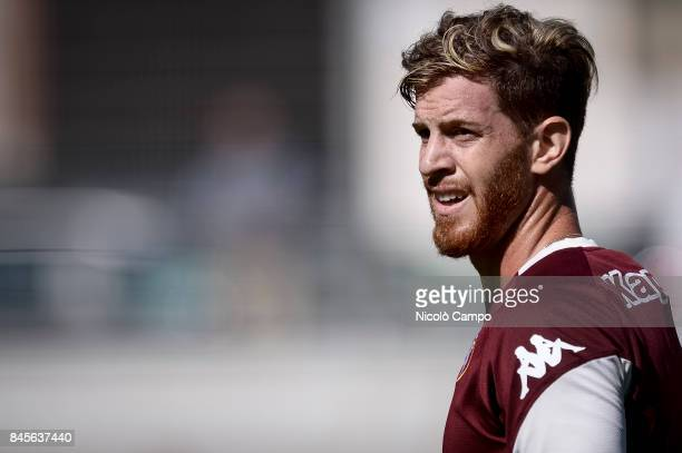 Cristian Ansaldi looks on during the Torino FC training Cristian Ansaldi signed for Torino FC on August 31