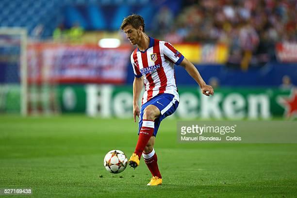 Cristian Ansaldi of Club Atletico de Madrid during the UEFA Champions League Group A football match between Club Atletico de Madrid and Juventus FC...