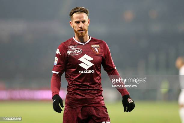 Cristian Ansaldi of FC Internazionale during the Serie A match between Torino Fc and FC Internazionale Torino Fc wins 10 over Fc Internazionale